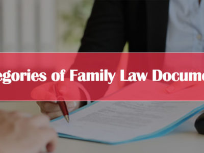 Categories-of-Family-Law-Documents