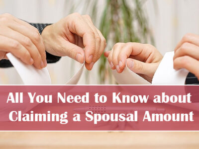 Claiming a Spousal Amount
