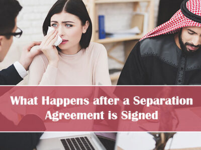 What Happens After A Separation Agreement Is Signed